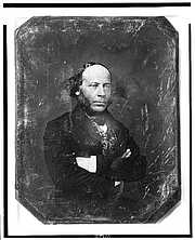 Foto do autor. Library of Congress Prints and Photographs Division, Daguerreotype collection (REPRODUCTION NUMBER:  LC-USZ62-110064)