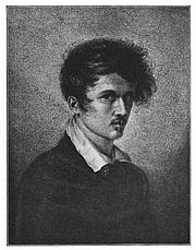 Foto de l'autor. Ludwig Emil Grimm, self-portrait