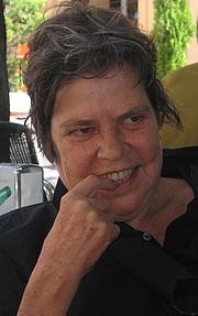 Forfatter foto. Doeschka Meijsing [credit: Chris van der Heijden; source: Wikiportrait]