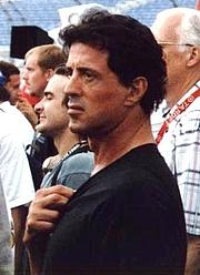 Författarporträtt. Sylvester Stallone in 2000. Photo © Tiberius B