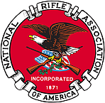 """Foto do autor. Logo of the National Rifle Association. By National Rifle Association, Fair use, <a href=""""https://en.wikipedia.org/w/index.php?curid=51056803"""" rel=""""nofollow"""" target=""""_top"""">https://en.wikipedia.org/w/index.php?curid=51056803</a>"""
