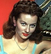 Foto do autor. Rhonda Fleming in 1945.