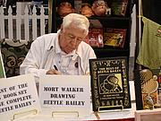 Kirjailijan kuva. Licensing Show International 2007, photo by Lampbane