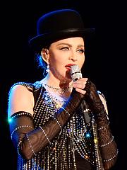 Foto do autor. Madonna (2016)