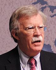 Kirjailijan kuva. John R Bolton. Photo courtesy of Chatham House.