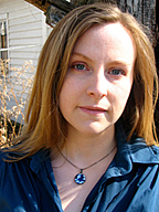 Kirjailijan kuva. From her website