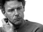 Författarporträtt. http://sv.wikipedia.org/wiki/Jan_Arnald Portrait of Jan Arnald (Arne Dahl) by Finn Hensner