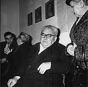 Forfatter foto. Amadeo Bordiga, primo segretario del PCI dal 1921 al 1923 (Archivio Rcs)