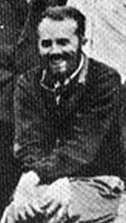 Foto do autor. Georges Contenau dans les années 20 lors d'une campagne de fouilles en Iran (Perse)