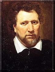 Författarporträtt. wikipedia - Ben Jonson by Abraham Blyenberch, circa 1617.
