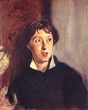 Author photo. Vernon Lee, by John Singer Sargent, 1881. Wikimedia Commons.