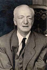 Author photo. Alfred Döblin en 1955/1956