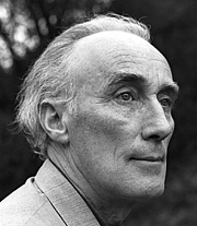 """Author photo. Norman MacCaig, author of """"The Poems of Norman MacCaig"""". Photo by Gordon Wright."""