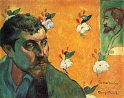 Kirjailijan kuva. Self-portrait, 1888,<br> Van Gogh Museum, Amssterdam, Netherlands<br> (Yorck Project)