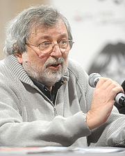 "Författarporträtt. Francesco Guccini a Lucca Comics & Games 2016. Chiesa di San Giovanni. By Niccolò Caranti - Own work, CC BY-SA 4.0, <a href=""//commons.wikimedia.org/w/index.php?curid=52755150"" rel=""nofollow"" target=""_top"">https://commons.wikimedia.org/w/index.php?curid=52755150</a>"