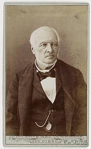 Forfatter foto. Édouard Charton (1807—1890). Founder of L'Illustration.