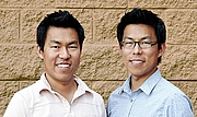 Kirjailijan kuva. Jack & Holman Wang (twin brothers & co-authors)