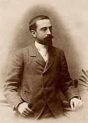 Fotografia de autor. Retrat de Joan Maragall fet pel fotògraf Napoleón, l'any 1888. Biblioteca de Catalunya. Barcelona.
