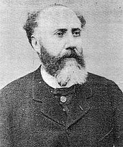 Kirjailijan kuva. Charles Yriarte (1832-1898). (ritratto della Gazette des Beaux-Arts, ser. 3, vol. 19, 1898, p. 431)