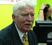 Photo de l'auteur(-trice). Credit: Hannibal (Wikipedia user), Gothenburg Book Fair 2007