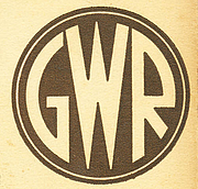 Fotografia de autor. Great Western Railway logo