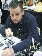 Foto de l'autor. Otis Frampton, San Diego Comic Con 2007.  Photo by Bonnie Burton, Star Wars Official Blog / Flickr.