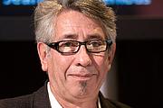 Forfatter foto. Carlos Liscano au Salon du livre de Paris lors du débat L'exil ou la censure ?