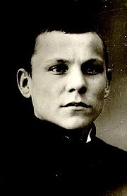 Kirjailijan kuva. Albert Kivikas, ca. 1916.