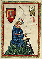 Foto do autor. Codex Manesse