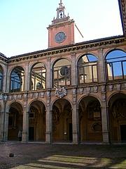 Fotografia de autor. Il Palazzo dell'Archiginnasio, Bologna