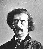 Foto de l'autor. Jules Barbey d'Aurevilly entre le 1860 et le 1865