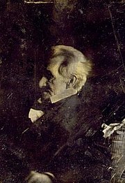 Fotografia de autor. Andrew Jackson (1767-1845)<br> Copy daguerreotype, original possibly<br> by Edward Anthony, circa 1844-1845<br> (Daguerreotype collection, <br>LoC Prints and Photographs Division, <br>LC-USZC4-1807)