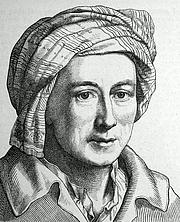 """Foto de l'autor. Source: """"Zweihundert deutsche Männer in Bildnissen und Lebensbeschreibungen"""", ed. by  Ludwig Bechstein. Leipzig (1854)"""