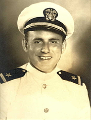 Författarporträtt. Leroy Hayman in World War II, commissioning photograph.