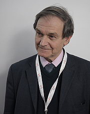 Forfatter foto. Roger Penrose at Festival della Scienza Oct 29 2011