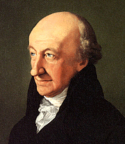 Photo de l'auteur(-trice). Portrait by Ferdinand Carl Christian Jagemann (1805)