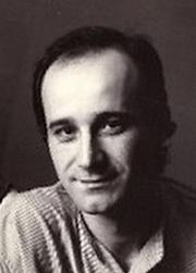 Forfatter foto. Jean-Luc Rispail (dans les années 1975-1980)