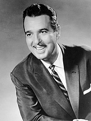 Foto do autor. Tennessee Ernie Ford in 1957