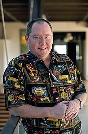Fotografia de autor. John Lasseter in 2002 [credit: Eric Charbonneau]