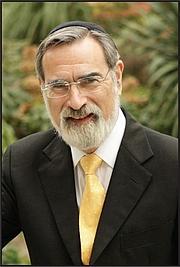 Foto de l'autor. Rabbi Sir Jonathan Sacks, Chief Rabbi of the United Hebrew Congregations of the Commonwealth