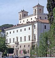 Kirjailijan kuva. Villa Medici, Rome