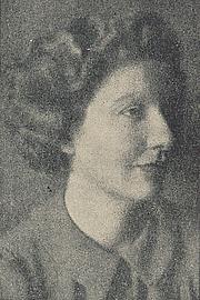 Kirjailijan kuva. Cropped scan of back cover of Penguin No.618 (unattributed image).