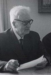 Fotografia de autor. Järvinen in 1962. Unknown author, source: Finnish Wikipedia