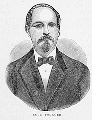 Forfatter foto. Image from <b><i>Outlaws of the border : a complete and authentic history of the lives of Frank and Jesse James, the Younger brothers, and their robber companions...</i></b> (1882) by Jay Donald