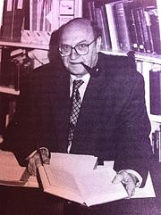 Författarporträtt. Malcolm B. Parkes