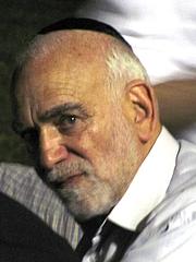 Författarporträtt. Rabbi Baruch Chait