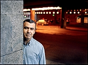 Foto de l'autor. Lorenzo Silva in 2007 by Joan Tomás