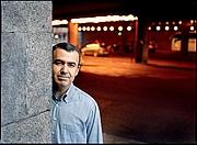 Kirjailijan kuva. Lorenzo Silva in 2007 by Joan Tomás