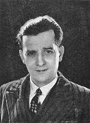 Författarporträtt. Marcel Pagnol (1931)