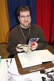 Foto de l'autor. From Newsarama